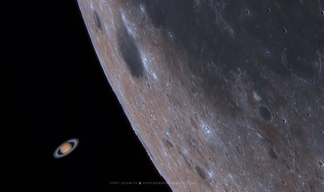Moon Occults Saturn