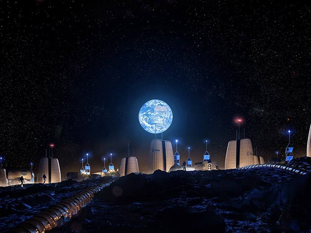 Moon Village Concept by SOM