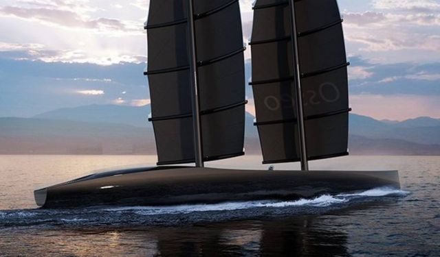'Osseo' Luxury performance Sailing Yacht concept