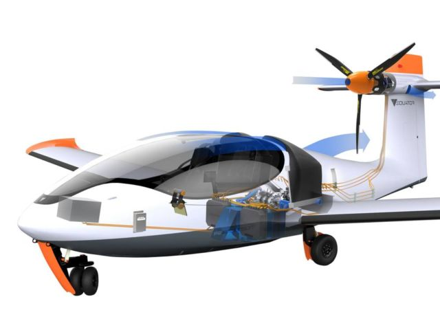 P2 Xcursion Amphibious hybrid aircraft First flight (6)