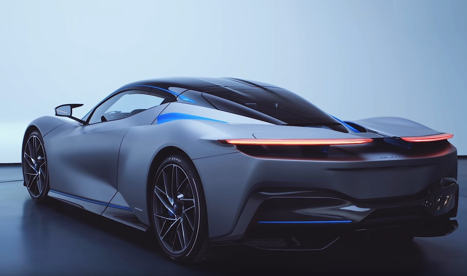 Pininfarina's 1900bhp Battista hyper-EV on a video
