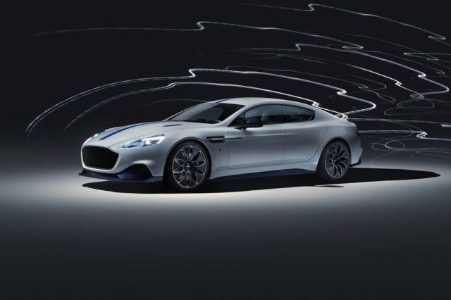 Rapide E the first electric Aston Martin
