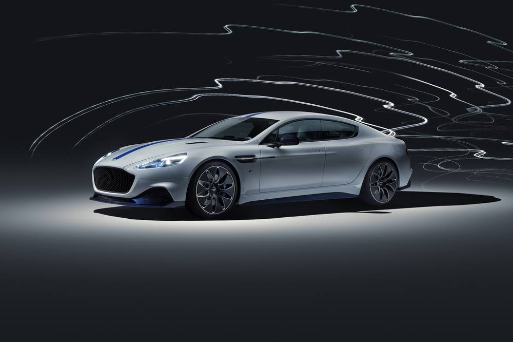 Rapide E the first electric Aston Martin