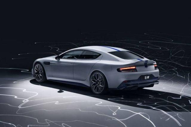 Rapide E the first electric Aston Martin (5)