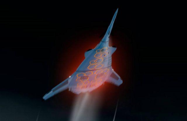 SZZ 'Superb ZunZún' Supersonic business Jet