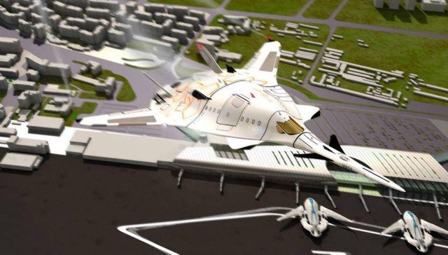 SZZ 'Superb ZunZún' Supersonic business Jet (13)