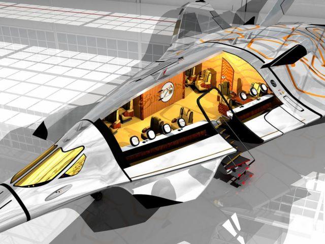 SZZ 'Superb ZunZún' Supersonic business Jet (4)