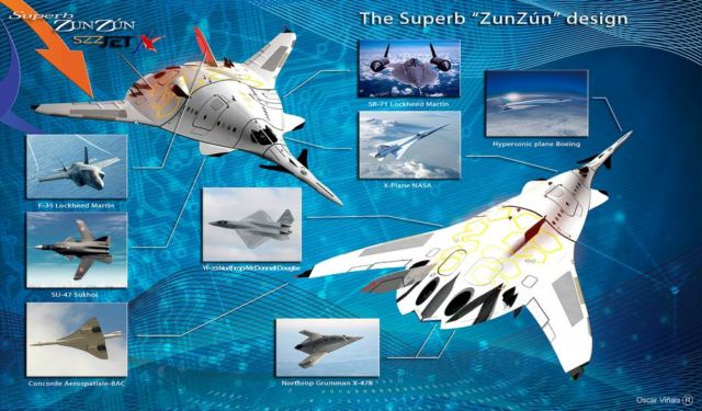 SZZ 'Superb ZunZún' Supersonic business Jet (1)