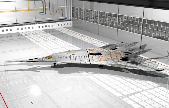 SZZ 'Superb ZunZún' Supersonic business Jet (19)