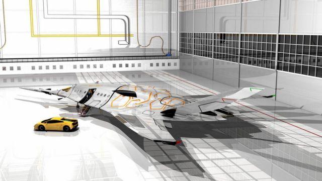 SZZ 'Superb ZunZún' Supersonic business Jet (17)