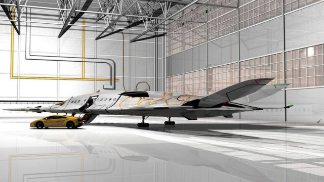 SZZ 'Superb ZunZún' Supersonic business Jet (15)