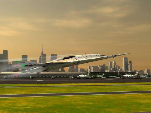SZZ 'Superb ZunZún' Supersonic business Jet (14)