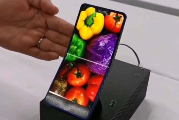 Sharp Foldable AMOLED display