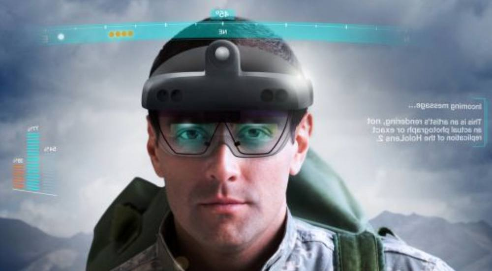 The Army will use Microsoft's high-tech HoloLens goggles