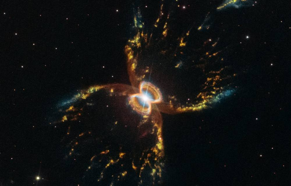 The incredible Formation of the Southern Crab Nebula