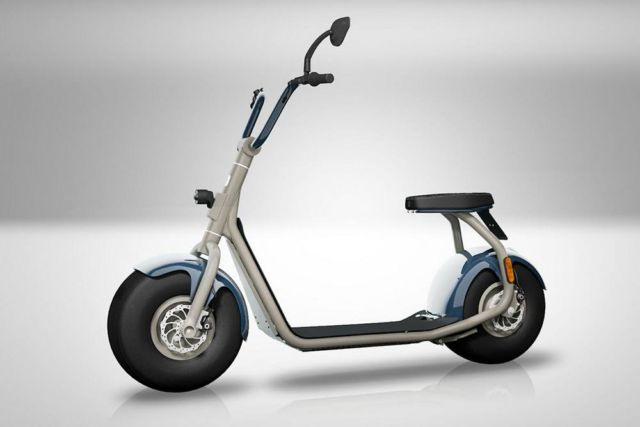 The minimal Scrooser electric scooter