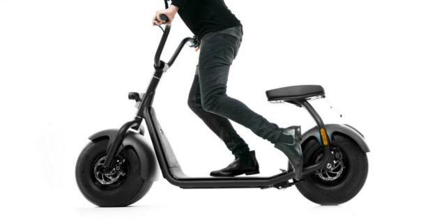 The minimal Scrooser electric scooter (5)
