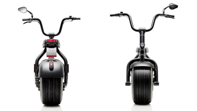 The minimal Scrooser electric scooter (2)