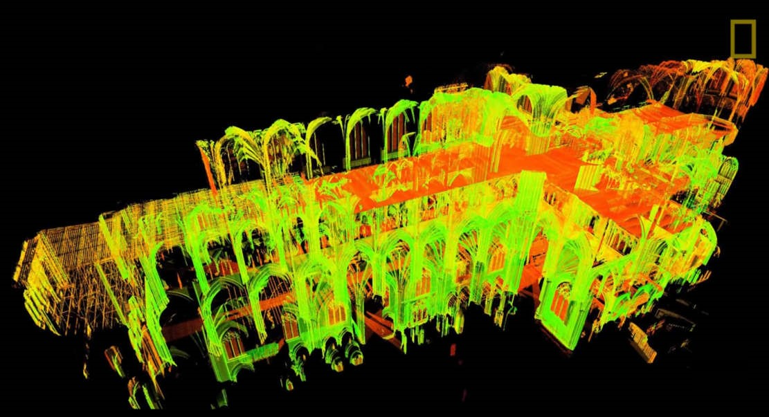 There are Ingenious 3D Scans of Notre Dame