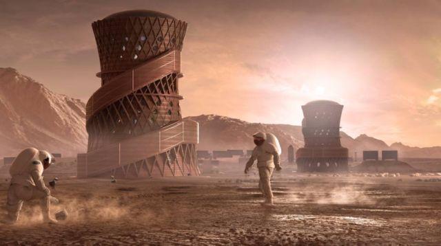 Winners of 3D-printed Space Habitats