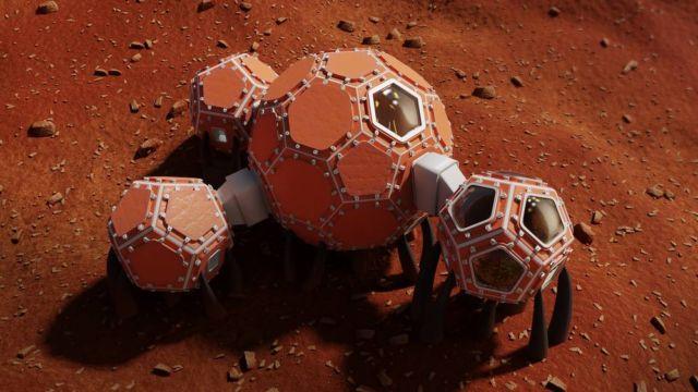 Mars Incubator Winners of 3D-printed Space Habitats