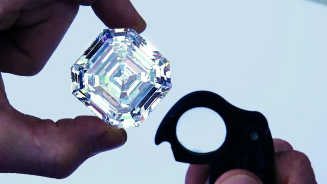 World's Largest Square Emerald Cut Diamond