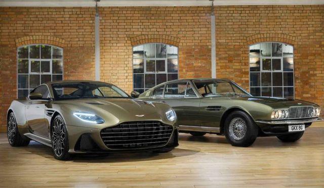 Aston Martin On Her Majesty's Secret Service DBS Superleggera (5)