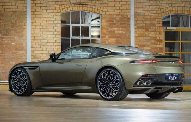 Aston Martin On Her Majesty's Secret Service DBS Superleggera (3)