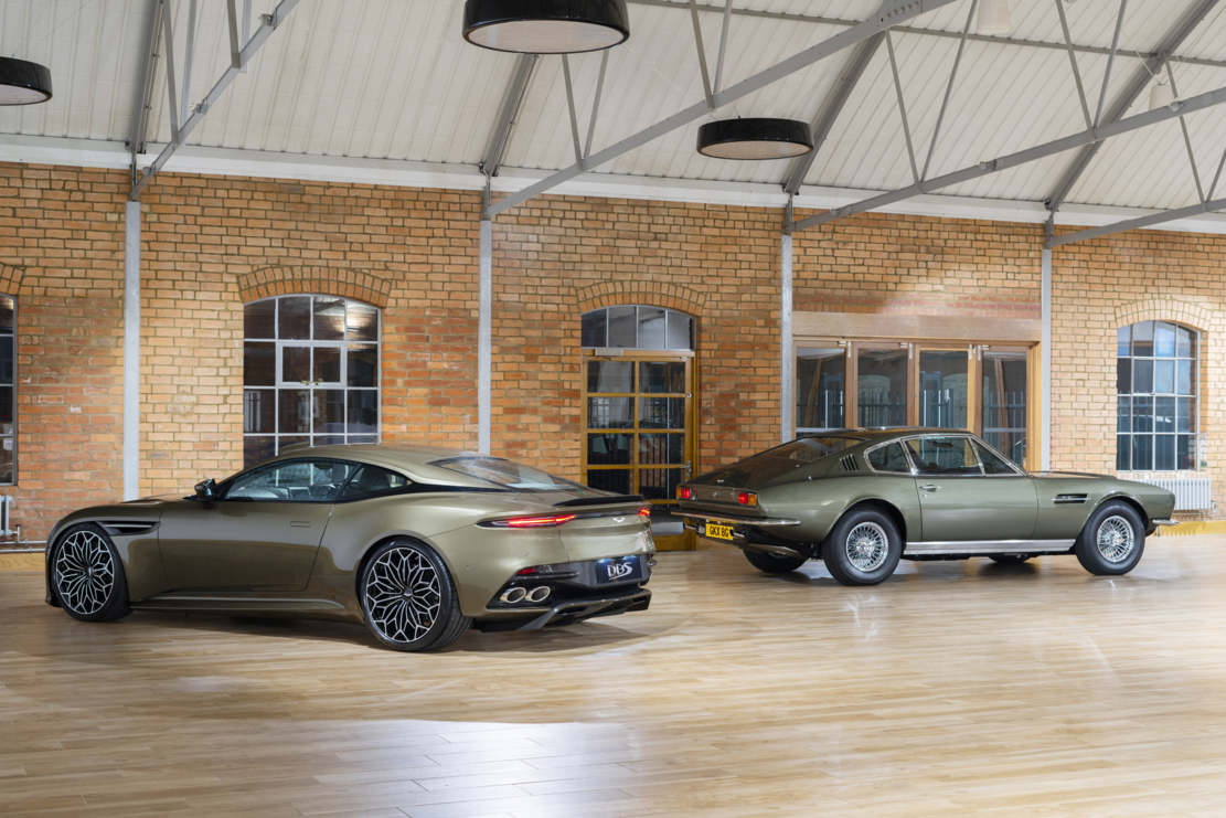 Aston Martin On Her Majesty's Secret Service DBS Superleggera (1)
