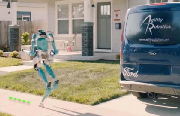 Autonomous Robot to bring deliveries to your door