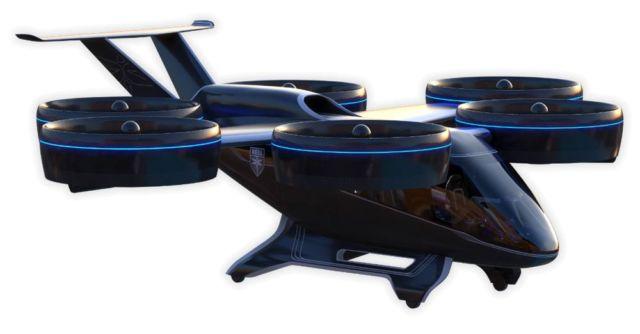 Bell Nexus Flying Taxi (1)