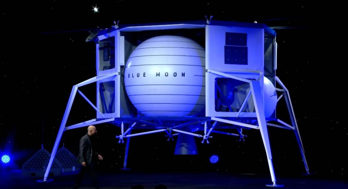 Blue Origin lunar lander