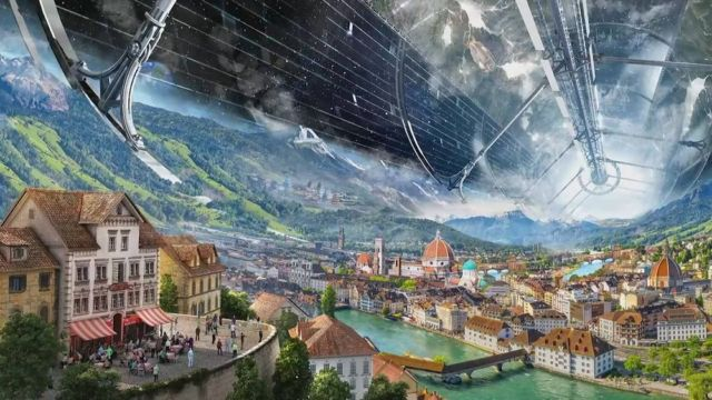 Blue Origin Self-sustaining Habitats in Space (2)