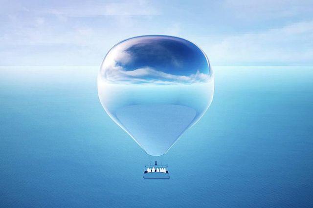 New Horizon Mirrored Hot Air Balloon (3)