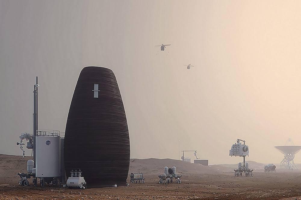 MARSHA Mars Habitat