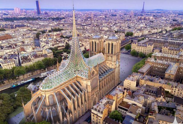 Paligenesis tribute to Notre-Dame