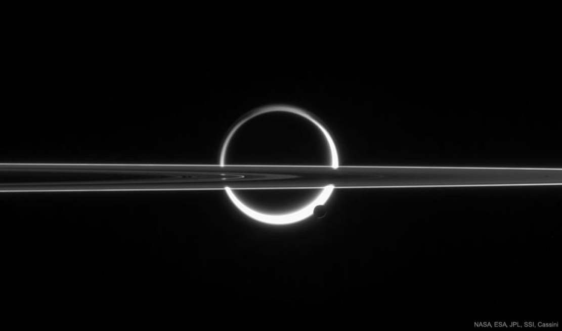 Rings, Titan and Haze