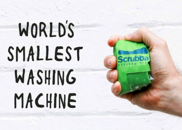 Scrubba- the smallest Washing Machine