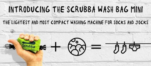 Scrubba- the smallest Washing Machine (2)