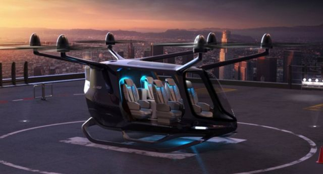 Skai Hydrogen-powered VTOL air taxi