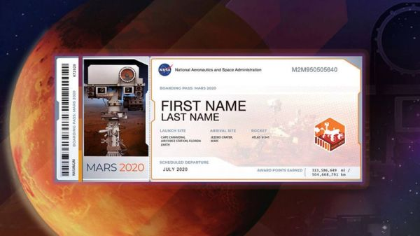 Submit your Name to Fly Aboard Next Mars Rover