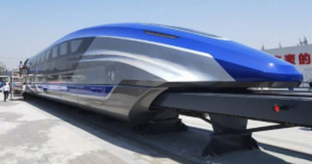The new China's Maglev Train (3)