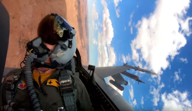 U.S. Air Force's Newest F-16 Squadron