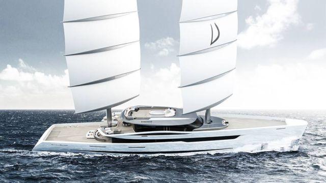 Vela 80m futuristic sailing yacht (4)