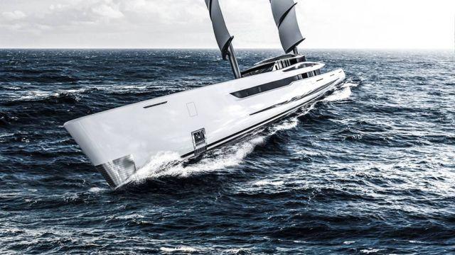 Vela 80m futuristic sailing yacht (2)