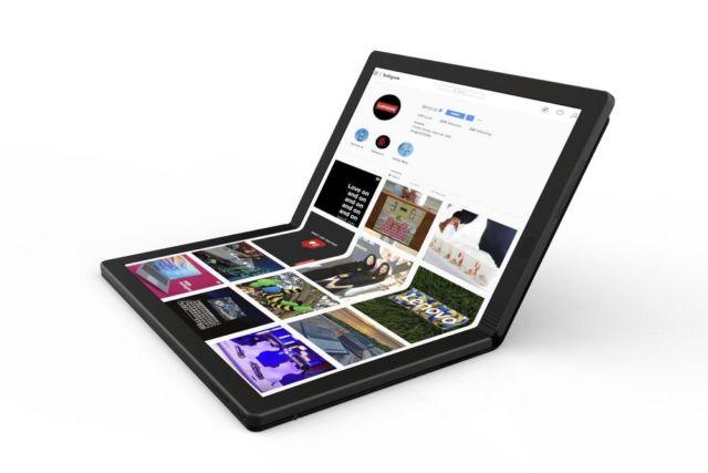 Lenovo foldable laptop