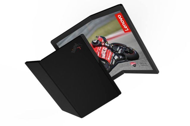 Lenovo foldable laptop