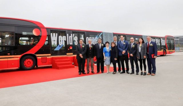World's Longest pure electric Bus (3)