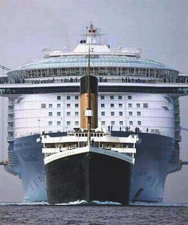 A Titanic size Comparison