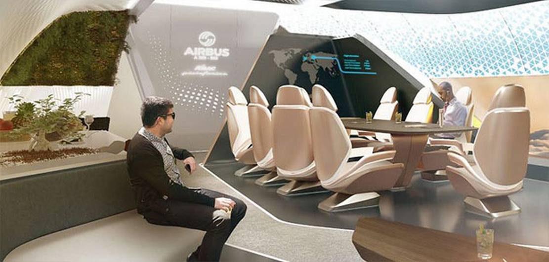AMAC Aerospace and Pininfarina Cabin Concept
